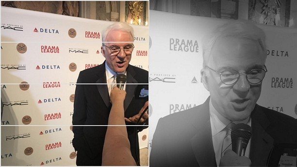 The Drama League's Gala, honoring Steve Martin