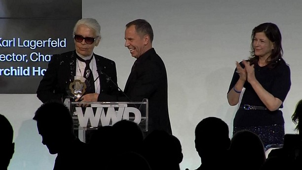 Karl Lagerfeld (John B. Fairchild Honor) WWD Honors