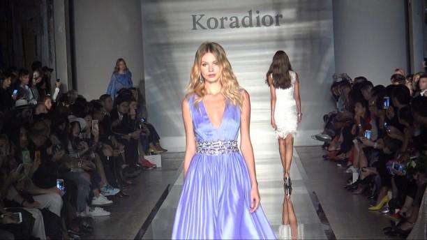 Koradior spring/summer 2017 collection Milan Fashion Week