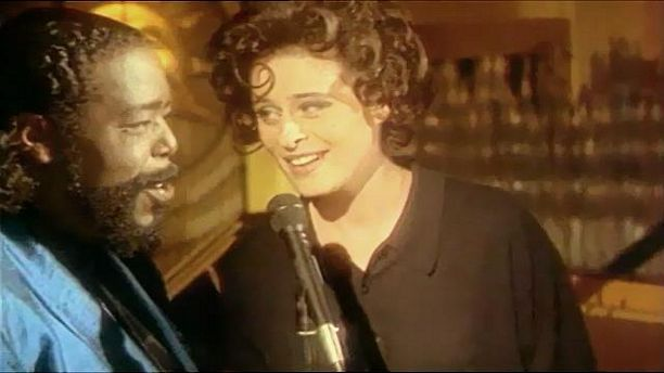 Lisa Stanfield Duet With Barry White - All Around The World