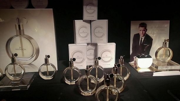 Michael Buble Fragrance Launch and Live performance