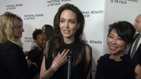 Angelina Jolie at THE NATIONAL BOARD OF REVIEW AWARDS 2017