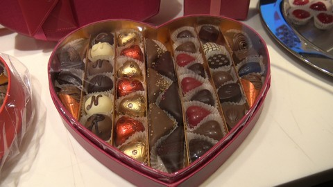 Celebrate Valentine's Day with Neuhaus Belgian Chocolate