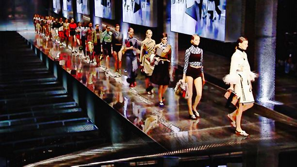 Prada Spring/Summer 2017 Art 360 Version by Style Music TV