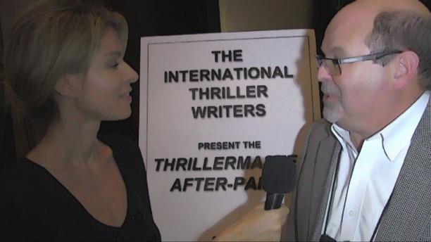 2016 Thriller Awards Matthew Betley, John Gilstrap & A.J. Tata