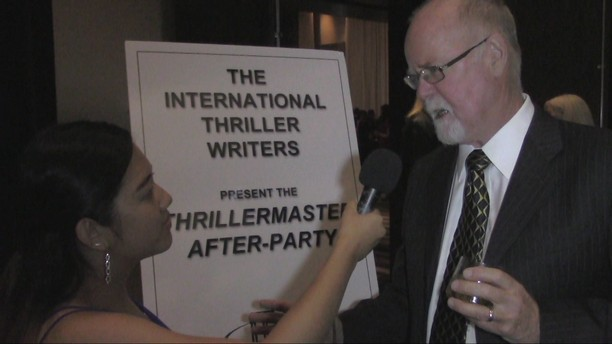 2016 Thriller Awards Authors John Lescroart and Douglas P. Lyle