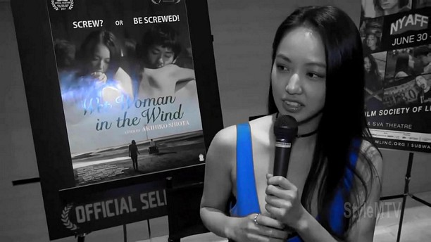 Wet Woman In the Wind Q&A Yuki Mamiya, actress & Akihiko Shiota, director