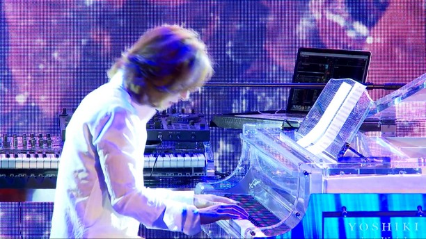 Yoshiki making his Carnegie Hall debut on January 12 & 13