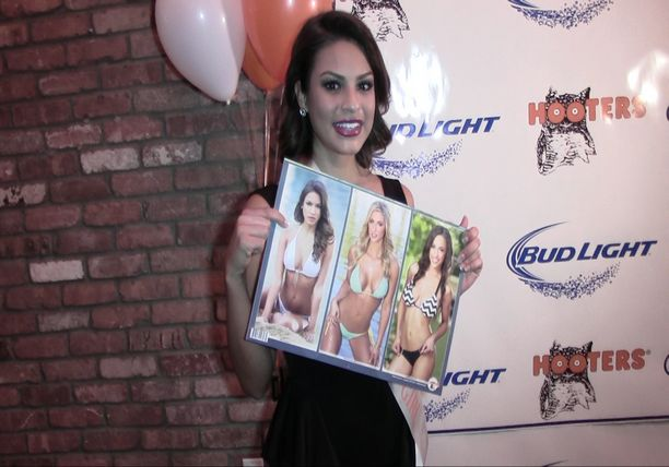 Hooters Party - 2015 Swimsuit Calendar HD