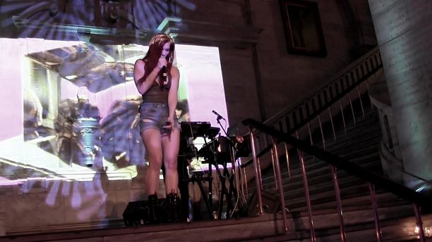 VH1 Save The Music Snowcoming - New York electro-R&B duo ASTR