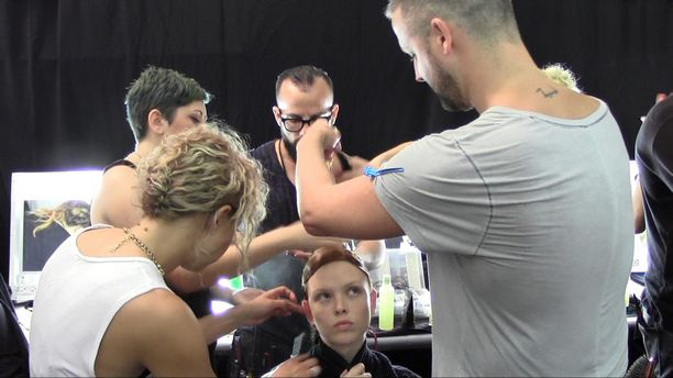 Backstage Spring/Summer 2015 - ACADEMY OF ART UNIVERSITY