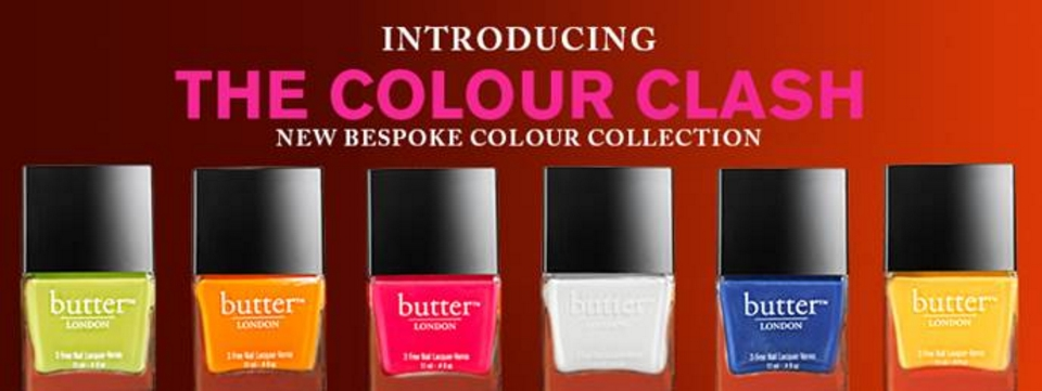 NEW butter LONDON - Colour Clash Collection