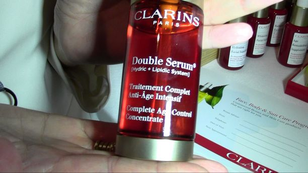 ISPA Media Event - Clarins Spa Demo 2015
