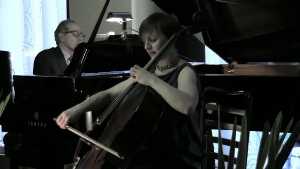 Michael Boriskin and Cellist Alexis Pia Gerlach - Astor Piazzolla: Le Grand Tango