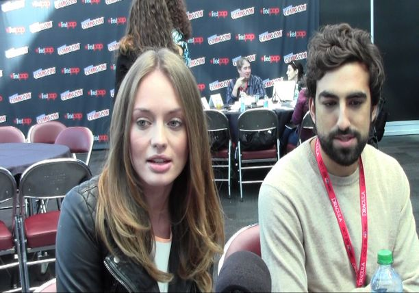 Laura Haddock and Gregg Chillin - STARZ Da Vinci's Demons