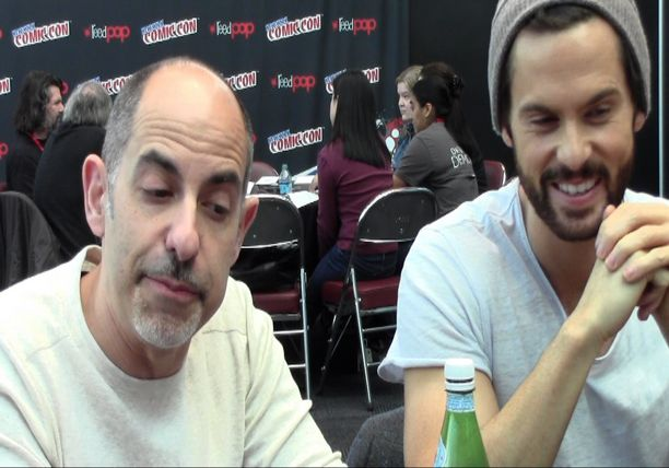 Creator David Goyer and Tom Riley - STARZ Da Vinci's Demons