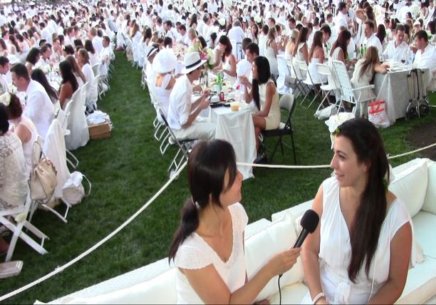 THE WORLD'S LARGEST DINNER PARTY - Diner en Blanc 2014