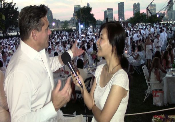 Exclusive Interview with Todd English - Diner en Blanc 2014