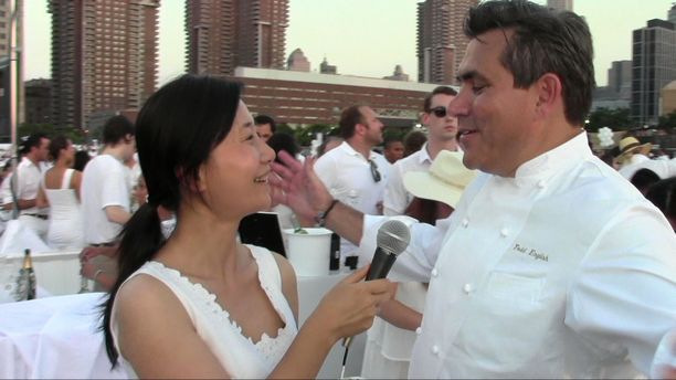 Chef Todd English - Dîner en Blanc NYC 2015