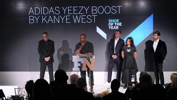 Kanye West Shoe of the Year Award - 2015 FN Achievement Awards