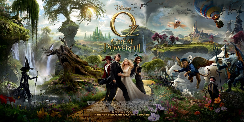 Extended Clip - OZ THE GREAT AND POWERFUL