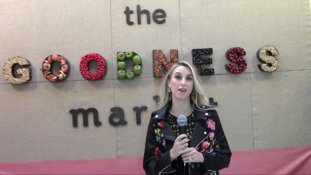Whitney Port - The Goodness Market Opening 2015