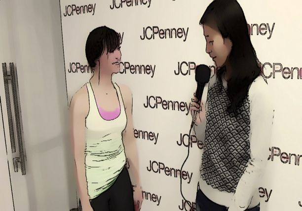 JCPenney's New Year, New You Fitness - Anime Karina Smirnoff Hosts