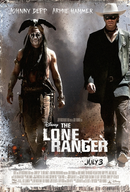 Johnny Depp and  Armie Hammer - The Lone Ranger Trailer
