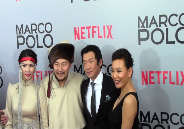Netflix Series MARCO POLO - New York Premiere Part 2