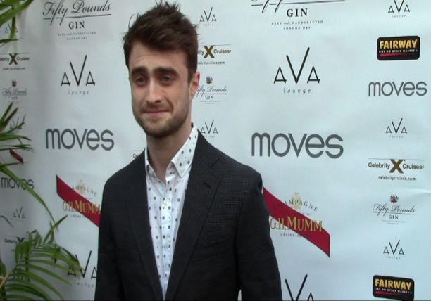 Exclusive interview with Daniel Radcliffe - Moves Magazine 2014 Summer Issue Party
