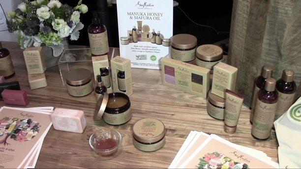 Moussa of SheaMoisture Cosmetics and Jessica of NEOCELL - Organic Spa Magazine Event Part 2