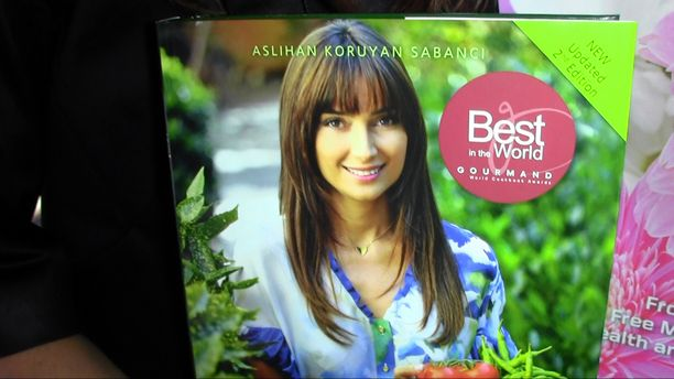 Author Aslihan Koruyan Sabanci - Organic Spa Magazine Event Part 3