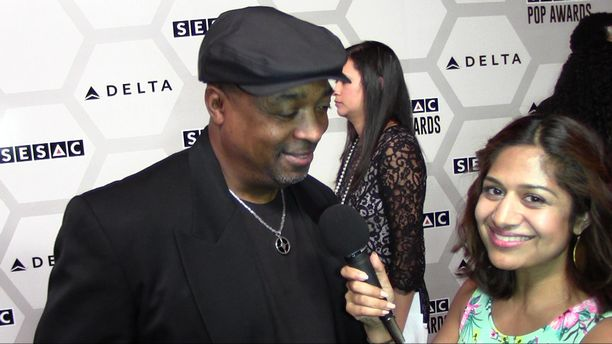 Chuck D of Public Enemy - 2015 SESAC Pop Music Awards