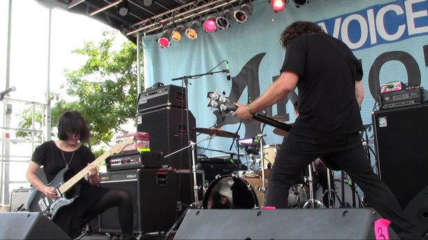 4Knots Music Festival 2015 - Screaming Females