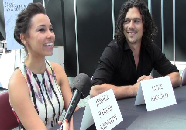 Interviews with Jessica Parker Kennedy and Luke Arnold - STARZ Black Sails Panel