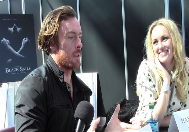 Interview with Toby Stephens and Hannah New - STARZ Black Sails Panel
