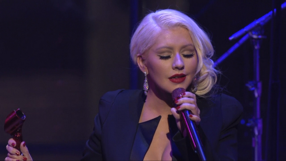 Christina Aguilera and Miguel - Time 100 Gala 2013