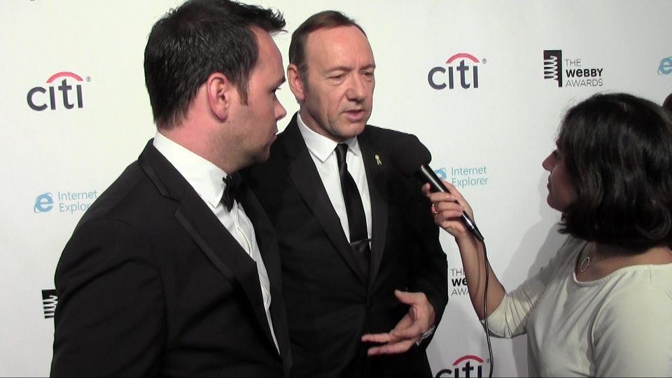 Kevin Spacey - The 17th Annual Webby Awards