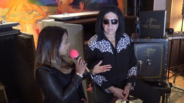 Exclusive Interview with Gene Simmons and The Vault