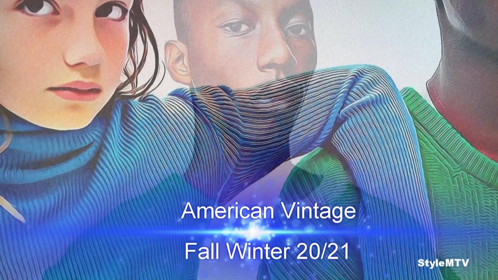 American Vintage Fall Winter 20-21 Art