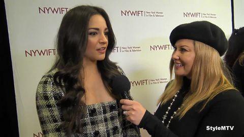 NYWIFT Executive Director Cynthia Lopez and Ana Villafane