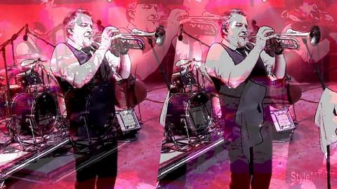 Davina and The Vagabonds Montreal Jazz Festival 360 Art