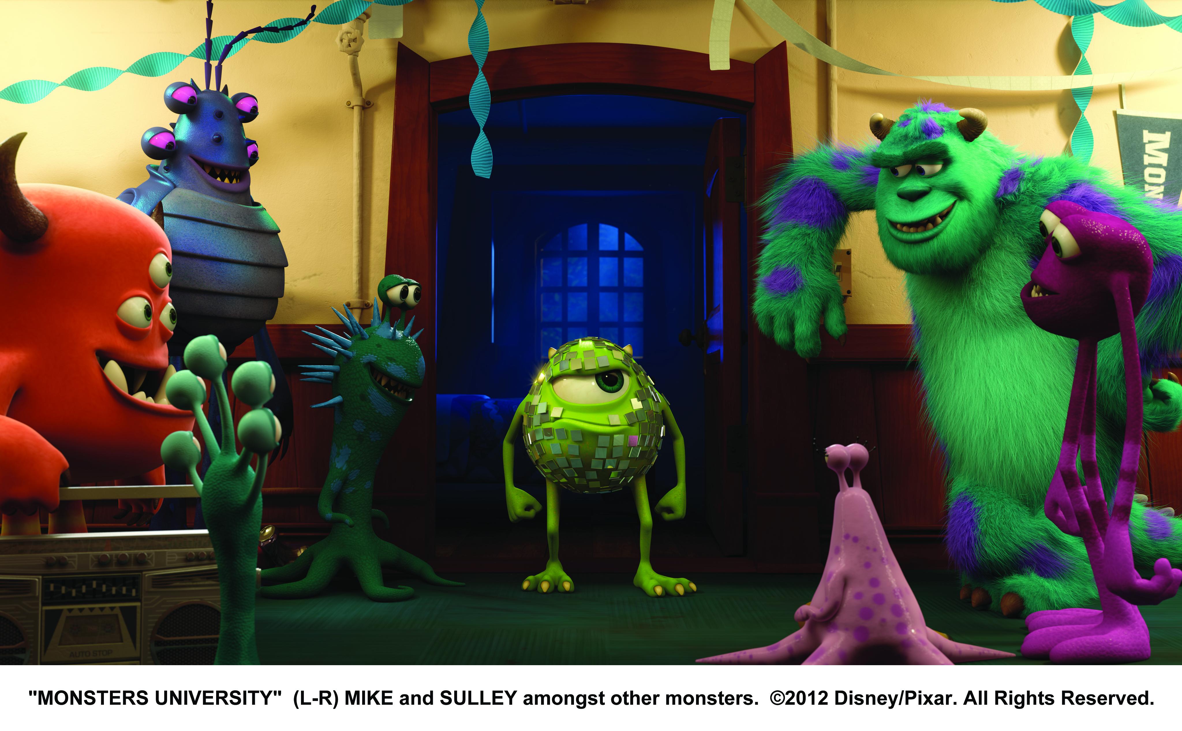 Disney/Pixar - Monsters University Teaser - President