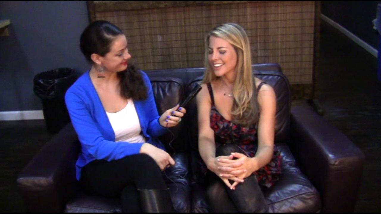 MORGAN JAMES - MORGAN JAMES/LIVE Interview