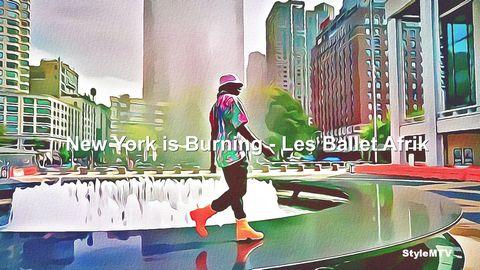 New York is Burning - Les Ballet Afrik 2020 Art