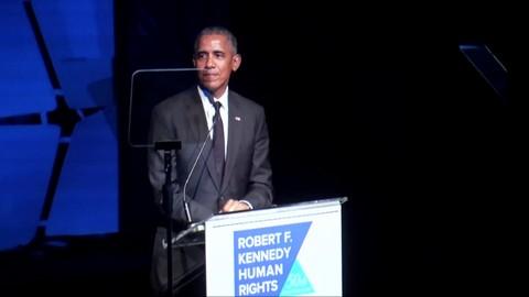 Honoree President Barack Obama Ripple of Hope Awards 2018