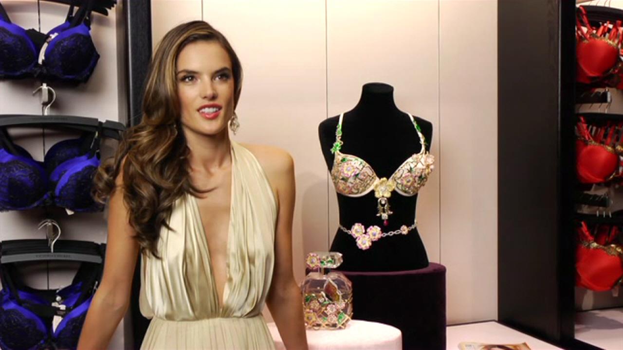 2012 Victoria's Secret Floral Fantasy Bra - Alessandra Ambrosio (Brazil)