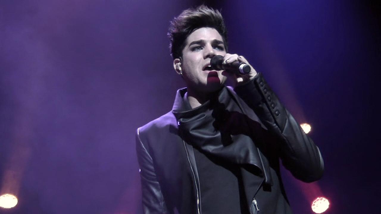 Honoring Adam Lambert - We Are Family 2012 Gala