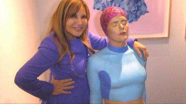 Exclusive Interview with Carole Feuerman hyperrealist sculpture