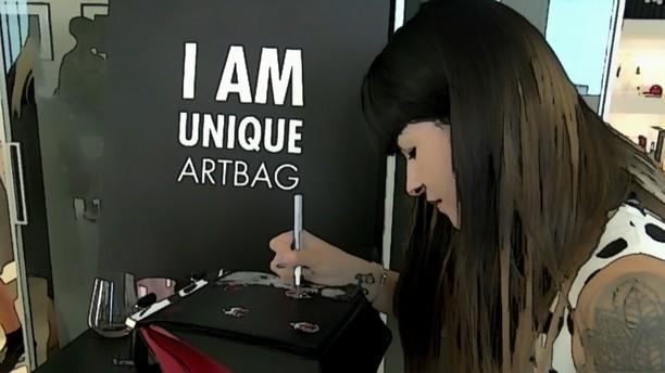 Demanumea Unique Art Bags Art Version SS 2017